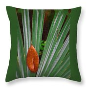 Don't Leaf Throw Pillow