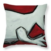 Don't Let The Dinosaurs Get You Down Throw Pillow