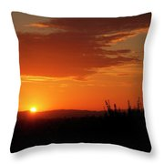 Don't Look At The Sun Throw Pillow