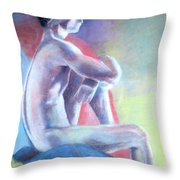 Don't Look Into The Light Throw Pillow