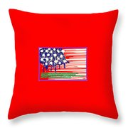 Don't Play The Anthem At Any Sporting Events. Throw Pillow