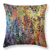 Don't Stop Be Leafin Throw Pillow