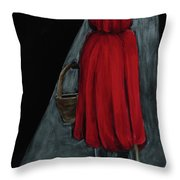 Don't Stray From The Path Throw Pillow