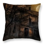 Don't Take The Back Roads Throw Pillow