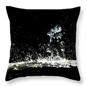 Don't Threaten Me With Love. Throw Pillow