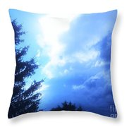 Don't You Love That Blue Throw Pillow