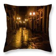 Donwtown Throw Pillow