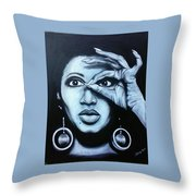 Donyele Throw Pillow