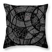 Doodle Art 1 Throw Pillow