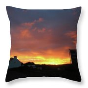 Doolin Co Clare Ireland Throw Pillow