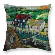 Doolin Ireland Sunset Throw Pillow
