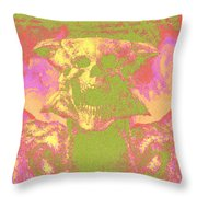 Doom 3 Resurrection Of Evil Throw Pillow