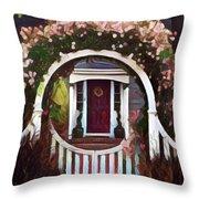 Door From A Dream Throw Pillow