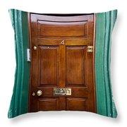 Door In Ireland Throw Pillow
