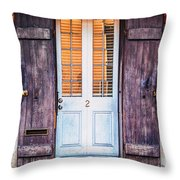 Door No. 2 Throw Pillow
