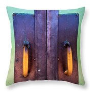 Door No. 3 Throw Pillow