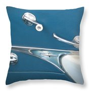 Door Parts Throw Pillow