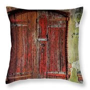 Door To Discovery Throw Pillow