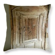Door To Feudal Times Throw Pillow