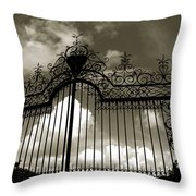 Door To Heaven Throw Pillow