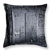 Door To Nowhere Blarney Ireland Throw Pillow