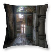 Door To Stairs Throw Pillow