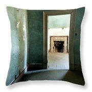 Door To The Past Throw Pillow