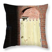 Door To Your Heart  Throw Pillow