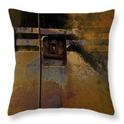 Doors And Stripes Throw Pillow