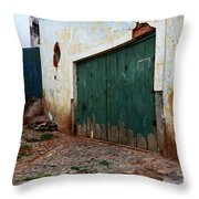 Doors And Windows Lencois Brazil 10 Throw Pillow