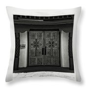 Doors Of Opportunity Throw Pillow