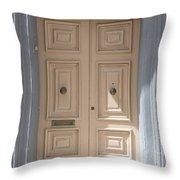 Doors Of The World 72 Throw Pillow