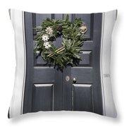 Doors Of Williamsburg 64 Throw Pillow
