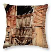 Doors Open Throw Pillow