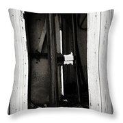 Doorway In Cuervo Throw Pillow