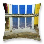 Doorways In Paraty  Throw Pillow