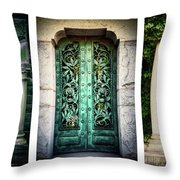 Doorways Of Woodlawn Throw Pillow