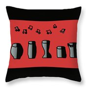 Doosic Throw Pillow