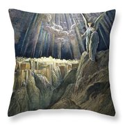 Dore: New Jerusalem Throw Pillow
