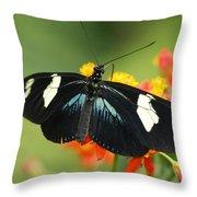 Doris Butterfly Throw Pillow