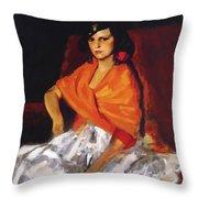 Dorita 1923 Throw Pillow