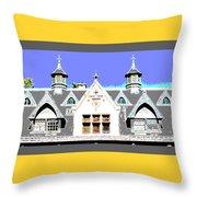 Dormers Design 4 Throw Pillow