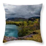 Dorothea Quarry Panorama Throw Pillow