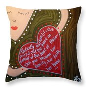 Dorothy Day Throw Pillow