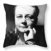 Dorothy L Sayers Throw Pillow
