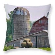 Dorset Street Barn Throw Pillow
