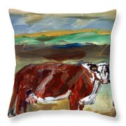 Doster Road Whiteface Throw Pillow
