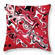 Dots N Spots Throw Pillow