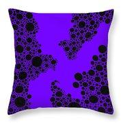 Dots Or Spots? Throw Pillow