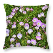 Dotted Meadow Throw Pillow